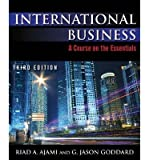 Telecharger Livres International Business A Course on the Essentials Author Riad A Ajami Dec 2013 (PDF,EPUB,MOBI) gratuits en Francaise