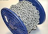 Anker-Kette Kette feuerverzinkt 22m x 4mm ähnl. DIN 766