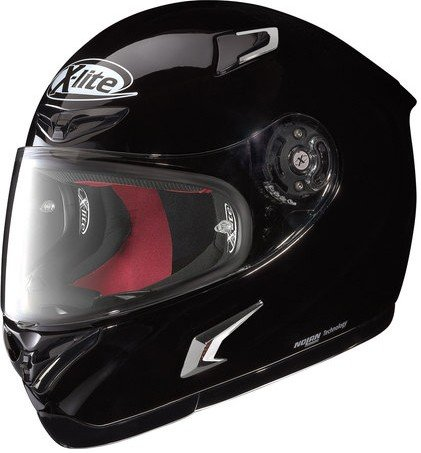 X de Lite x-802r Start – Casco Integral, Color Negro, tamaño M (57/58)
