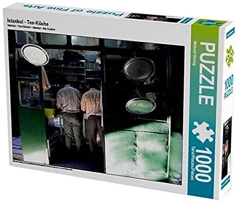 Istanbul - Tee-Küche 1000 Teile Puzzle quer: Die europäische Kulturhauptstadt 2010 ist nach wie vor eine Reise wert. (CALVENDO Orte)