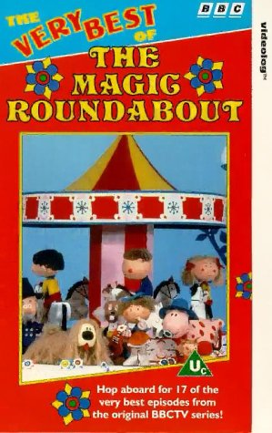 The Very Best Of The Magic Roundabout [VHS]