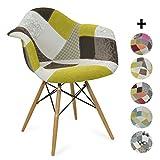 La sedia Eames DAW style è ispirato in uno dei modelli più popolari del design dell'avanguardia del secolo XX, della conoscente uguale di designer Eames. Eleganza, comodità e stile si uniscono per dare un tocco speciale alla tua sala da pranz...