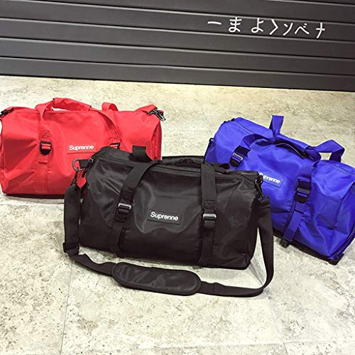 bc6f5e2b9354 ZHOUBINBIN Leisure Sports Gym Bag Portable Large Capacity Waterproof Travel  Bag Ladies Sports Yoga Bag