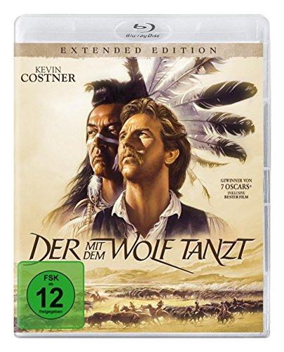 Der mit dem Wolf tanzt - Extended Version [Blu-ray] (Mit Film Der Dem Tanzt Wolf)