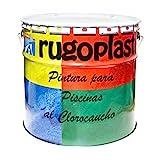 Pintura Piscinas al Clorocaucho Azul / Blanco (20Kg, Blanco H 24) Envío GRATIS 24h.