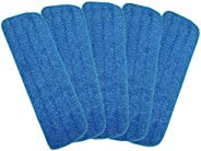 """Microfiber Spray Mop Replacement Heads for Wet/Dry Mops Floor Cleaning Pads Fit All 15"""" Sprays Mops Compa"""