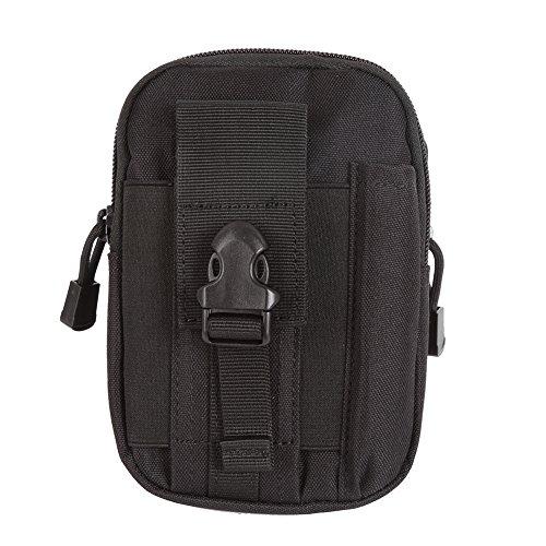 Shiningup Compact Multipurpose Molle EDC Utility Beutel Werkzeuge Taille Tasche mit Handy Holster Halter