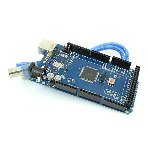 MEGA2560 Micro Controller Board with ATmega2560 and ATMega16U2 Development Board Arduino Mega2560 Compatible with USB Cable from Optimus Electric Pack of 5 (Assembly Board Controller)