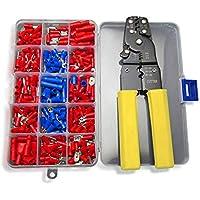 nuzamas Crimper Alicates Cable Cortador de alambre herramienta 0.5 ~ 6.0 mm AWG 23 – 10