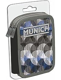 Munich Pop Art 159751 Estuches, 23 cm, 1 Litro, Gris