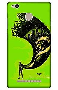 iessential joker batman Designer Printed Back Case Cover for Redmi 3S