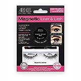 ARDELL Professional Magnetic Liner & Lash - Demi Wispies, magnetischer Eyeliner mit 1 Paar magnetische Wimpern, einfaches Anbringen, wasserfest und wiederverwendbar, das Original aus Echthaar