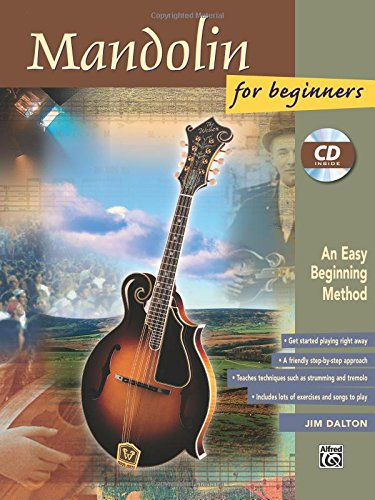 Mandolin for Beginners: An Easy Beginning Method (incl. CD)