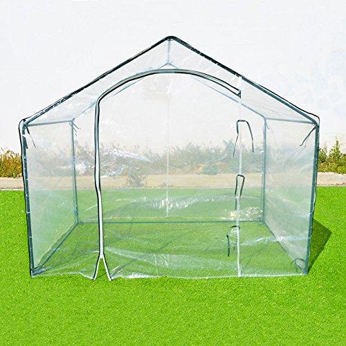BenefitUSA 1002-2 Garten-Gewächshaus, transparent
