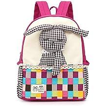 Vans mochila,Linda chica mochila,Bolsa de escuela de lona para niños Mochila mochila