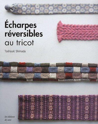 Echarpes réversibles au tricot par Toshiyuki Shimada