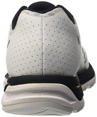 Mizuno Synchro Mx, Chaussures de Running Compétition Homme Bianco (White/Black/Silver)