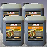 80 Liter Schalöl Professional Schaloel Trennmittel Betontrennmittel Schalungsöl Trennmittel für Formen und Schalungen Holz Metall Matrizenschalungen Mischerschutz