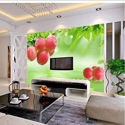 Benutzerdefinierte 3D Fototapete Frisches Obst Große Wandmalerei Restaurant Wohnzimmer Sofa TV Hintergrundbild Tapete
