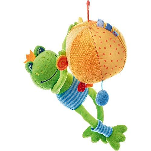 HABA 302511 – Spieluhr Frosch Felix, Kleinkindspielzeug