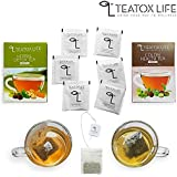 [Sponsored]28 Day Detox Herbal Green Tea For Weight Loss, Slimming Belly Fat & Colon Cleansing Tea Bundle | 25 Tea Bags
