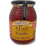 Miel de Tomillo - 1kg - Producida en España - Alta Calidad, tradicional & 100% pura - Aroma Floral y Sabor Rico y Dulce