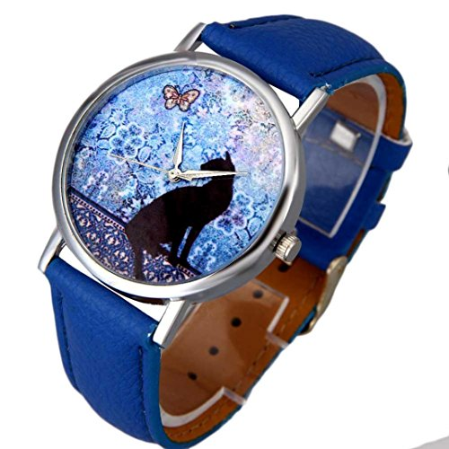 familizo-women-cat-pattern-leather-band-analog-quartz-vogue-wrist-watch-blue