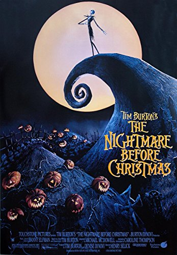 Póster Nightmare Before Christmas/Pesadilla antes