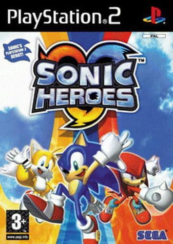 Sonic Heroes (Playstation 2-sonic)