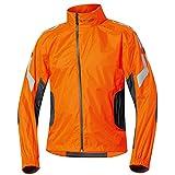 Held Wet Tour - Regenjacke, Farbe schwarz-orange, Größe M