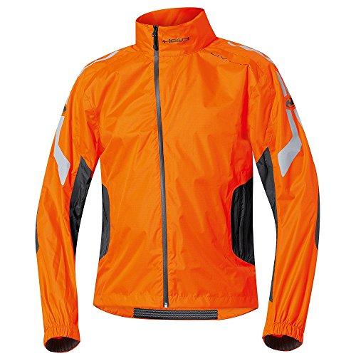 Held Wet Tour - Regenjacke, Farbe schwarz-orange, Größe M Orange Regenjacke