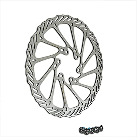 Vélo Disque de frein 160mm 6trous compatible avec Avid, Magura, Hayes, Tektro, Shimano, etc.
