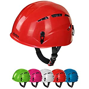 ALPIDEX Casco de Escalada para Niño Casco ferrata en Muchos Colores