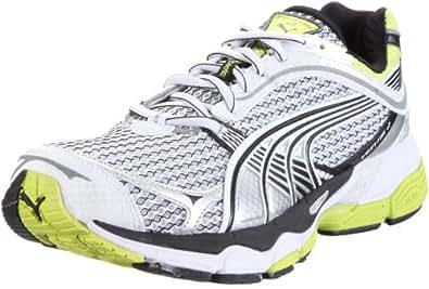 Puma Complete Ventis 2 185158, Herren Sportschuhe - Running, Weiss (white-silver metallic-lime 07), EU 47 (UK 12) (US 13)