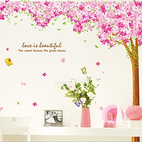 large-pink-sakura-flower-cherry-blossom-tree-wall-sticker-decals-pvc-removable-wall-decal-for-nurser