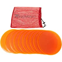 Precision - Discos de entrenamiento (planos), naranja naranja Talla:21 cm