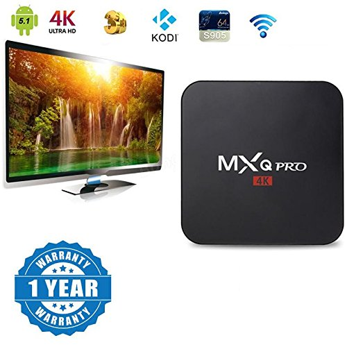 Captcha Xiaomi Mi MaX Compatible Certified MXQ PRO 4K Android 5.1 TV Box Quad Core 1GB/8GB Kodi Smart WiFi TV Media Player(1 Year Warranty)