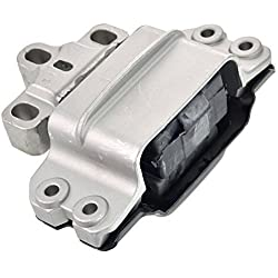 A-Z Parts Germany 01856 Engine Mount Block Engine Mounting Gearbox Mount Automatic Transmission Manual Transmission Front Left Motor Mount 3 °C0199555S