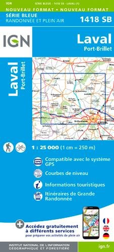 Laval Port Brille 1:25 000