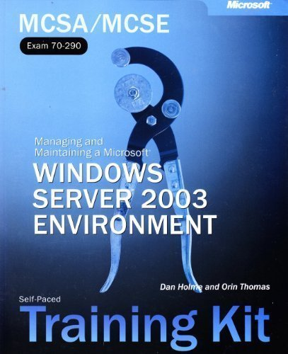 MCSE Self Paced Training Kit: Windows Server 2003 Core Requirements (Pro Certification) por Craig Zacker