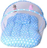 #6: Cutieful Mosquito Protector Comfy Baby Sleeping Mosquito Net Bed |Portable Baby Bed|Washable Baby Bed|Soft, Durable and Comfortable Baby Bed|