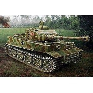 Italeri 6487S SD.Kfz.181 Pz.Kpfw.Vi Tiger I híbrido - Tanque a Escala