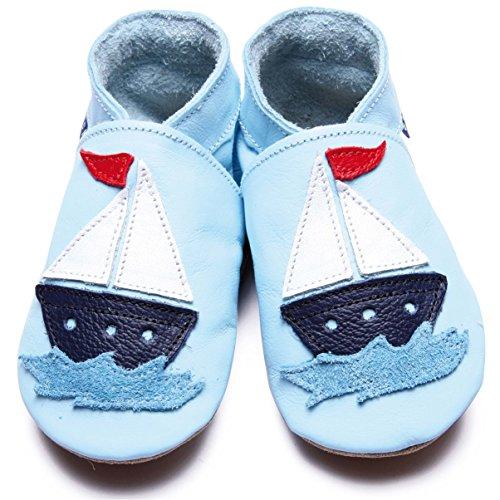 Inch Blue  slipper, Chaussons pour garçon Bleu - Baby Blue