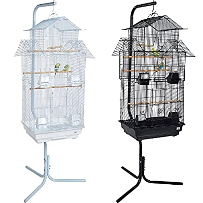 Pet Ting Tulip Bird Cage with Stand - For Finch Canary Budgie Cockatiel - Etc from Pet Ting