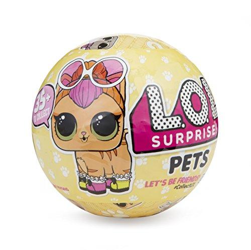Giochi Preziosi - LOL Surprise Pets Sfera con Animaletto a Sorpresa 7 livelli, Modelli Assortiti, 1 Pezzo