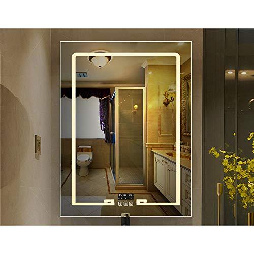 Espejo baño LED, Interruptor táctil, función Bluetooth