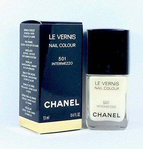 Le Vernis Nail (CHANEL LE VERNIS NAIL COLOUR 501 Intermezzo 13 ml (1er Pack))