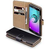 2016 Galaxy A5 Case, Terrapin Handy Leder Brieftasche Case Hülle mit Kartenfächer für Samsung ...