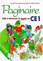 Paginaire, CE1. Livre de l'élève