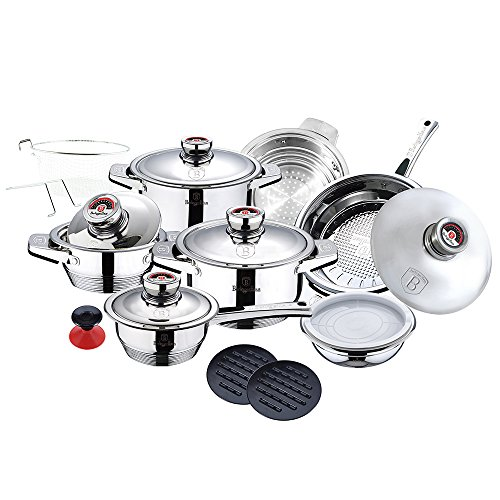 Berlinger Haus Thermo Controle Nineteen Piece Cookware Set II